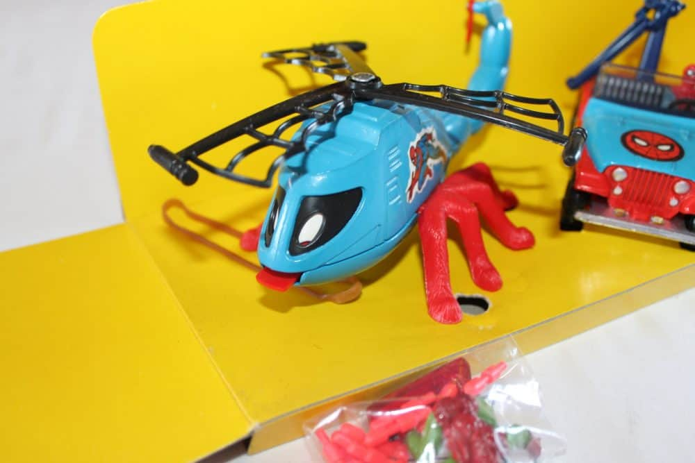 Corgi Toys GS23 Spiderman Gift Set-Helicopter