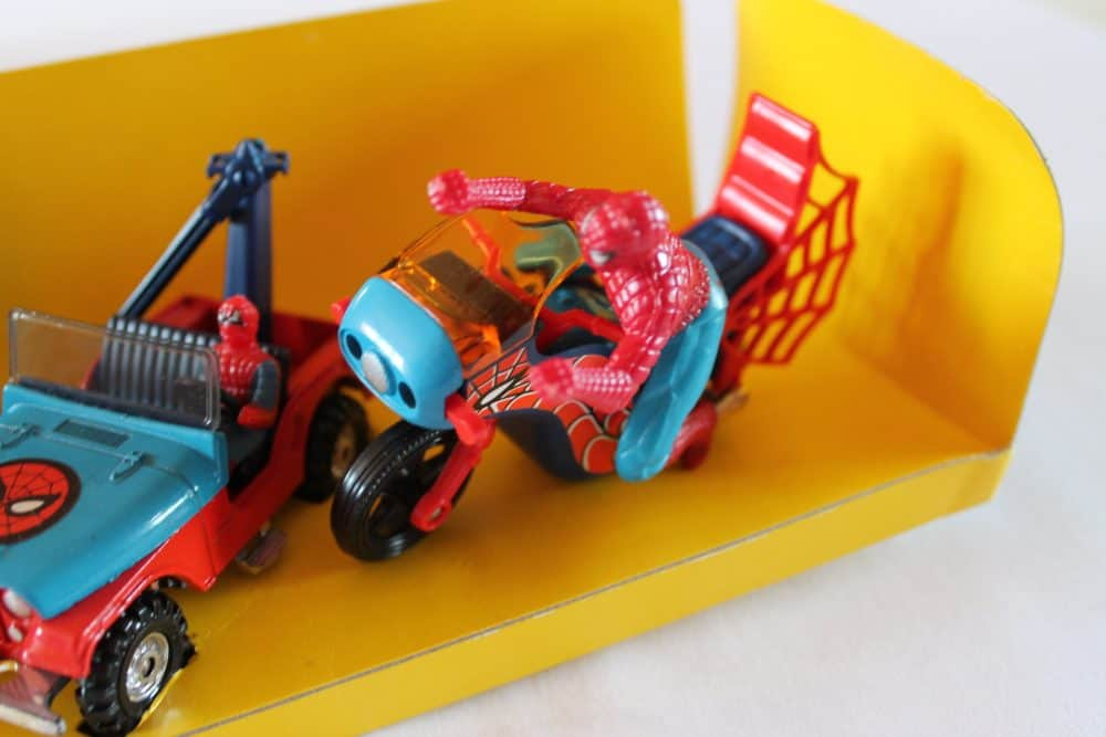 Corgi Toys GS23 Spiderman Gift Set-MotorBike