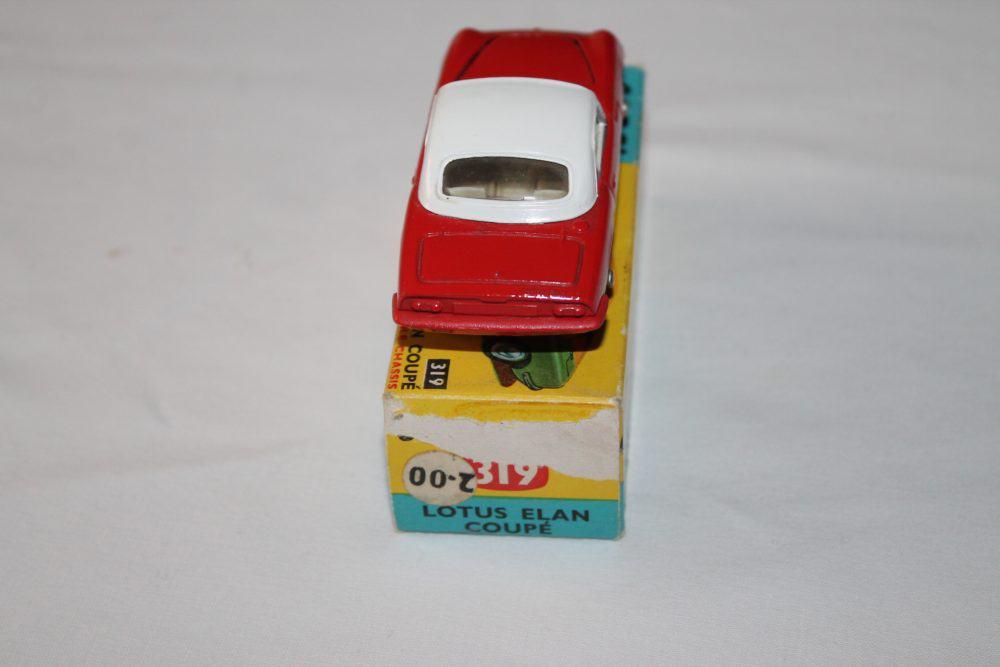 Corgi Toys 319 Lotus Elan Coupe-back