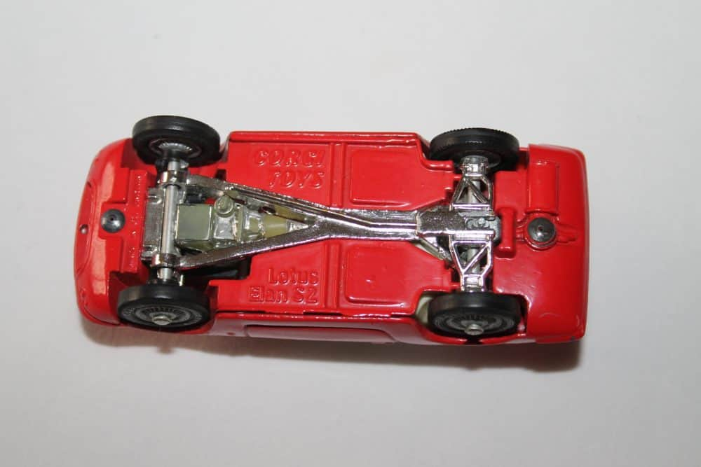 Corgi Toys 319 Lotus Elan Coupe-base