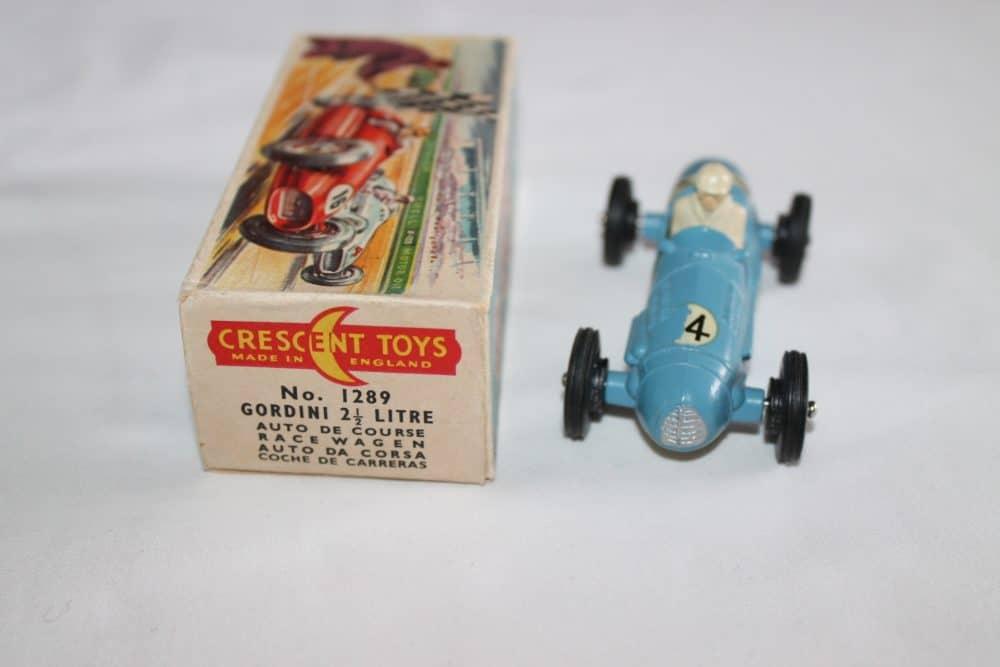 Crescent Toys 1289 Gordino 2.5litre Grand Prix Racing Car-front