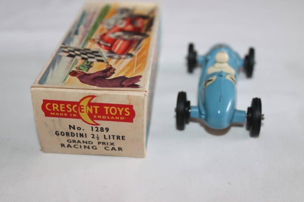 Crescent Toys 1289 Gordino 2.5litre Grand Prix Racing Car-back