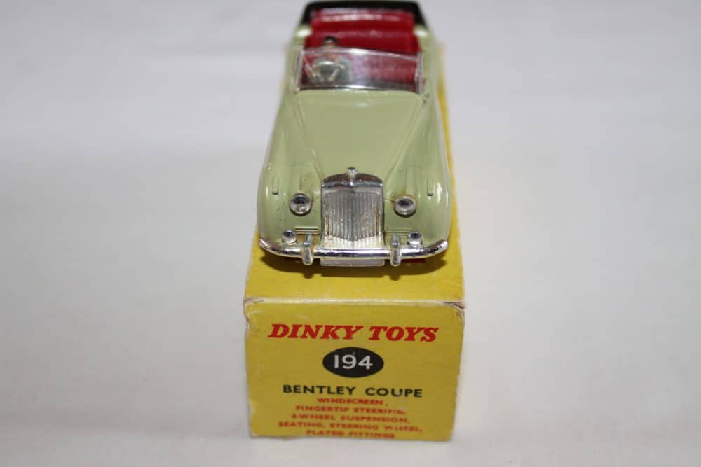 Dinky Toys 194 Bentley Coupe South African version-front
