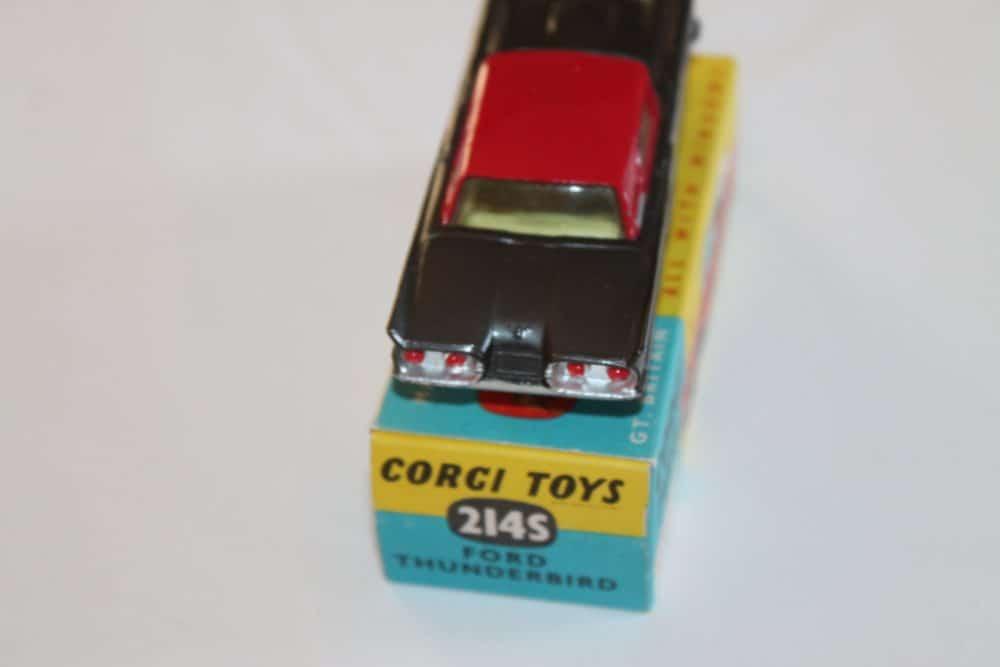 Corgi Toys 214S Ford Thunderbird-back