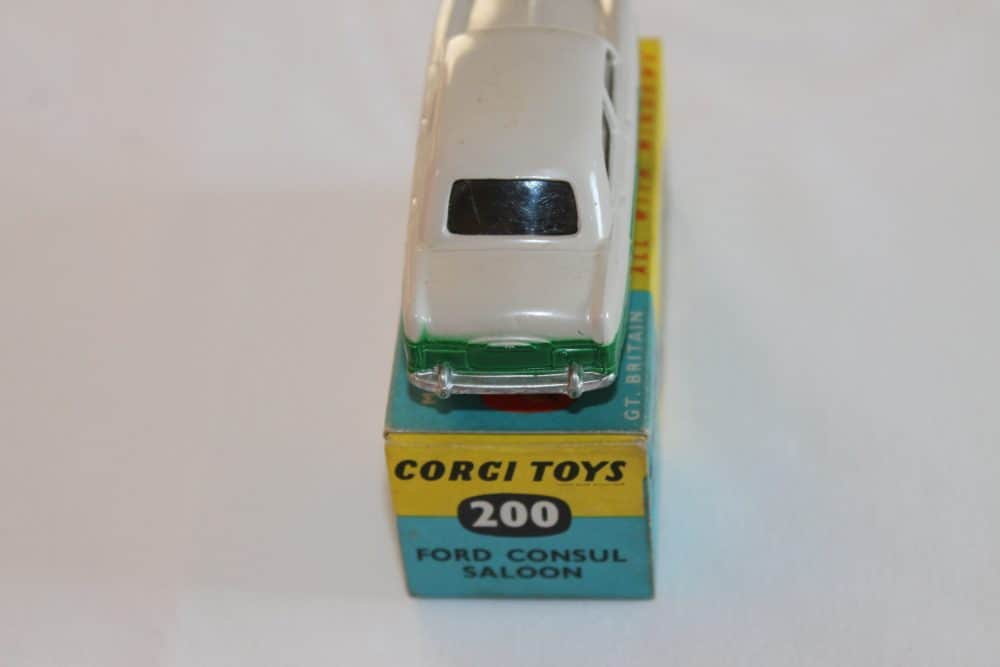 Corgi Toys 200 Ford Consul Saloon-back