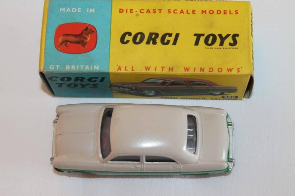 Corgi Toys 200 Ford Consul Saloon-top