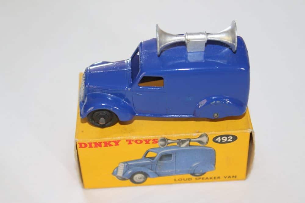 Dinky Toys 34C/492 Loud Speaker Van