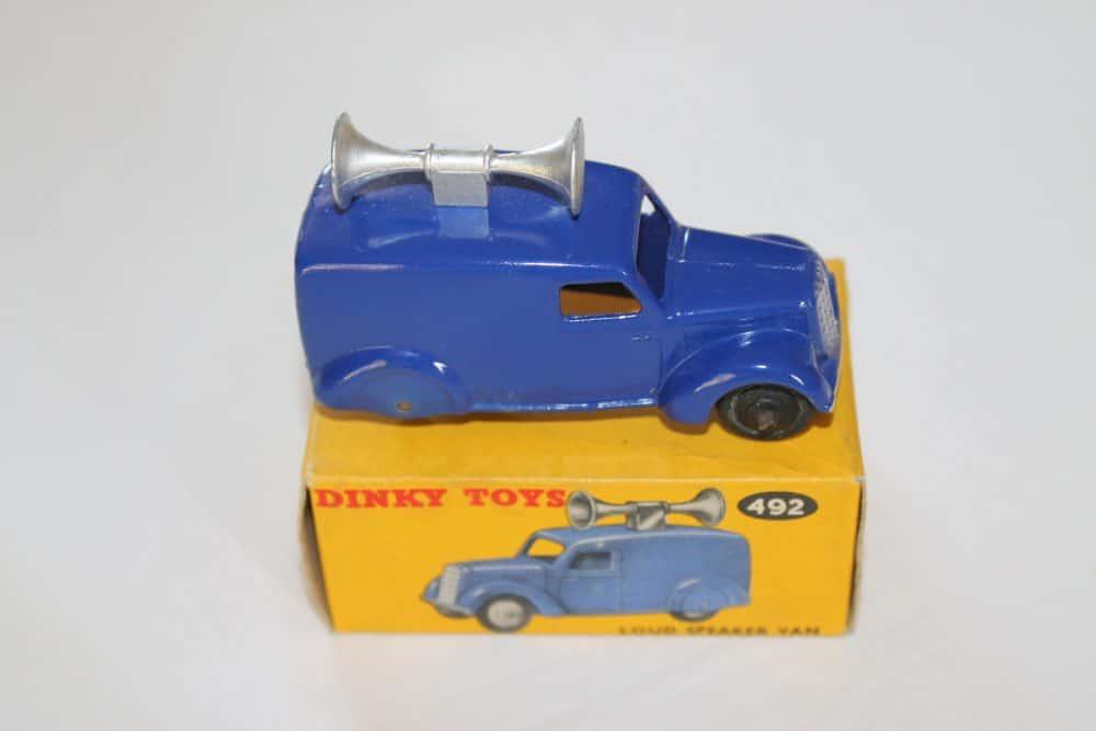 Dinky Toys 34C/492 Loud Speaker Van-side