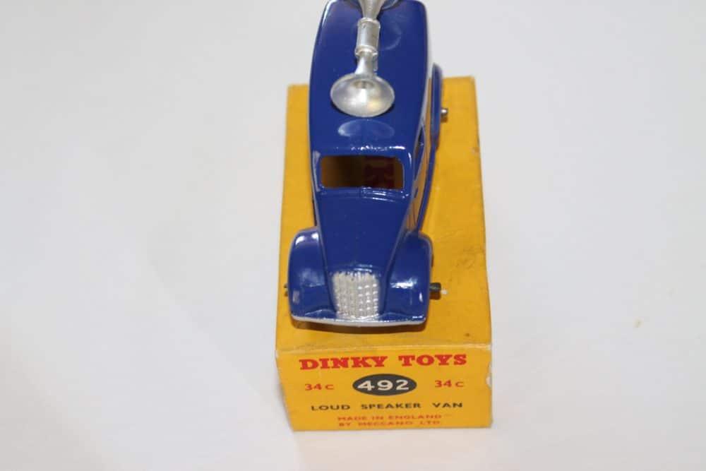Dinky Toys 34C/492 Loud Speaker Van-front