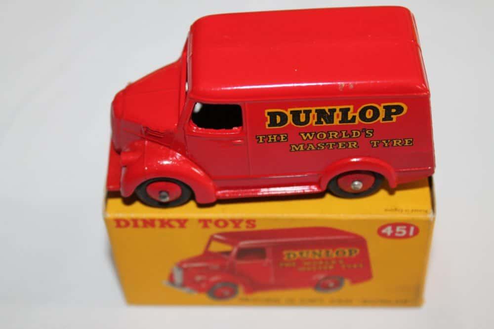 Dinky Toys 451 Trojan 'Dunlop' Van