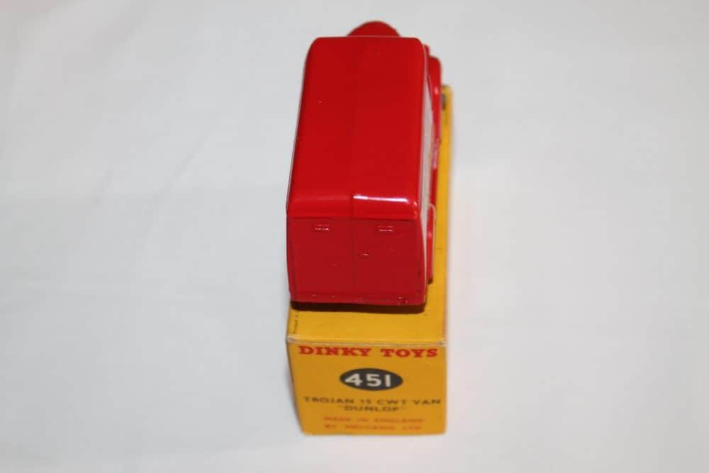 Dinky Toys 451 Trojan 'Dunlop' Van-back