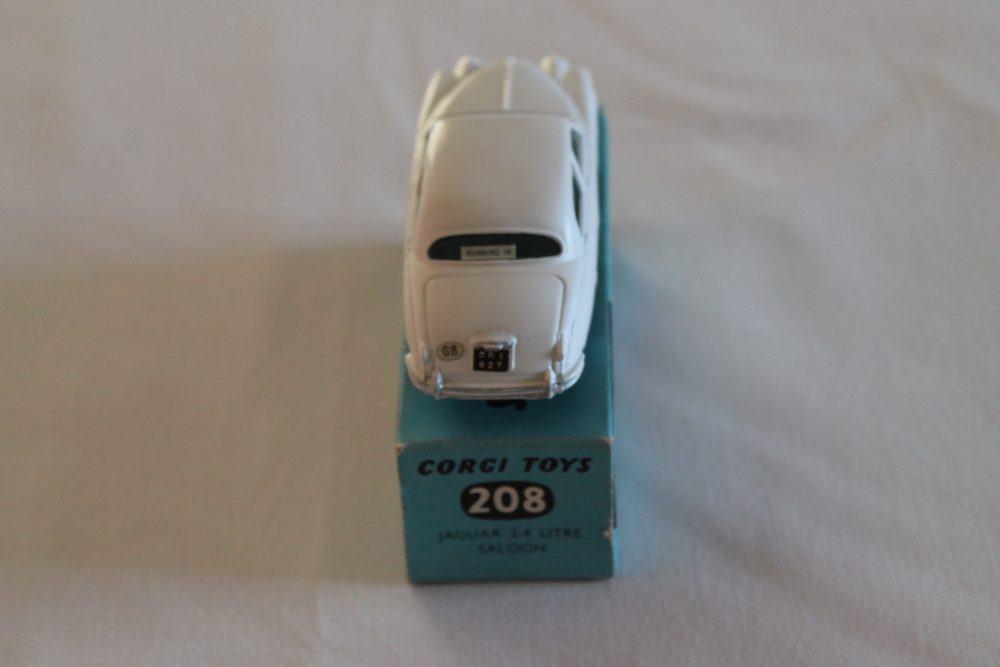 Corgi Toys 208 Jaguar 2.4 litre-back