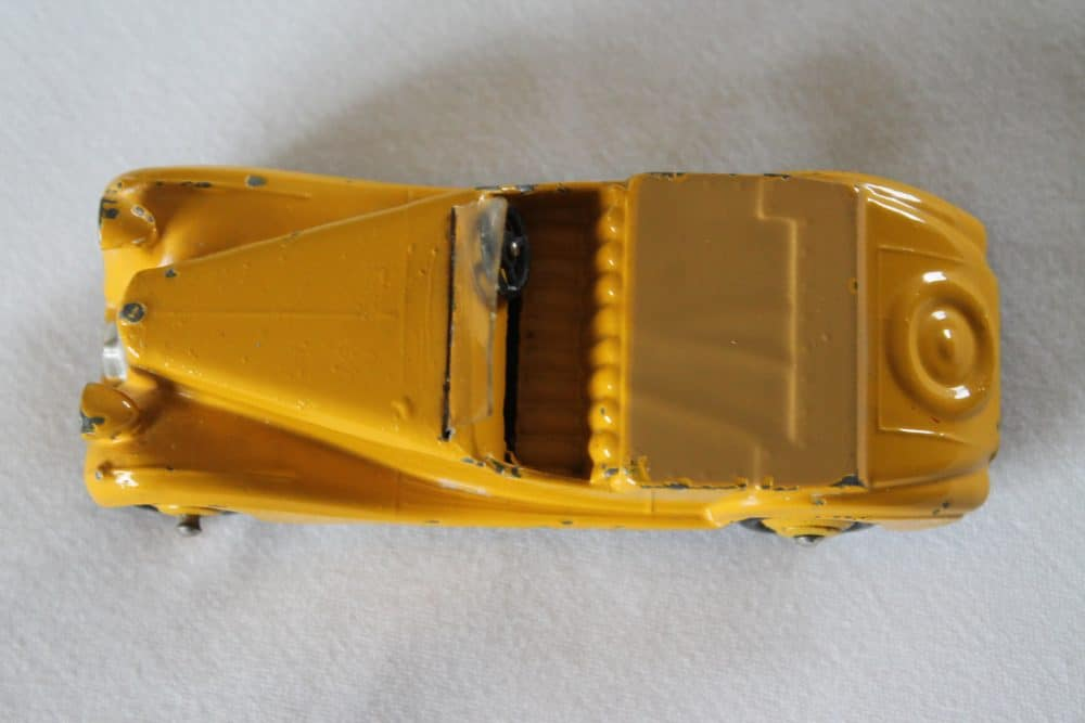 Dinky Toys 038b Sunbeam Talbot-top