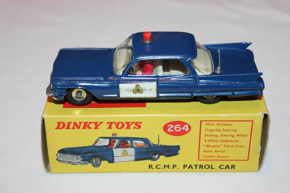 Dinky Toys 264 R.C.M.P. Cadillac Patrol Car