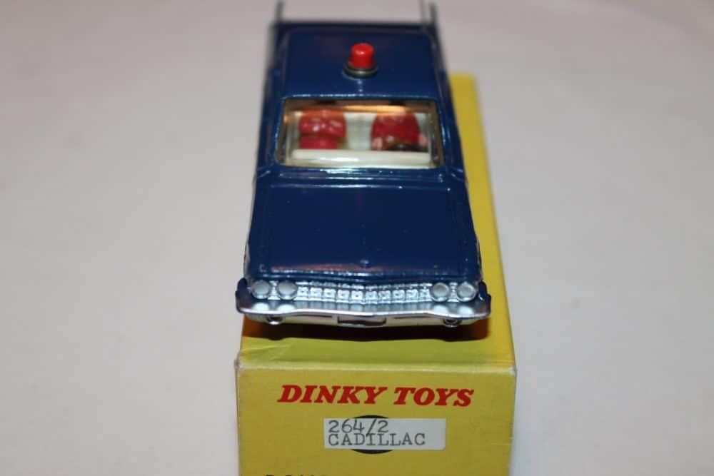 Dinky Toys 264 R.C.M.P. Cadillac Patrol Car-front