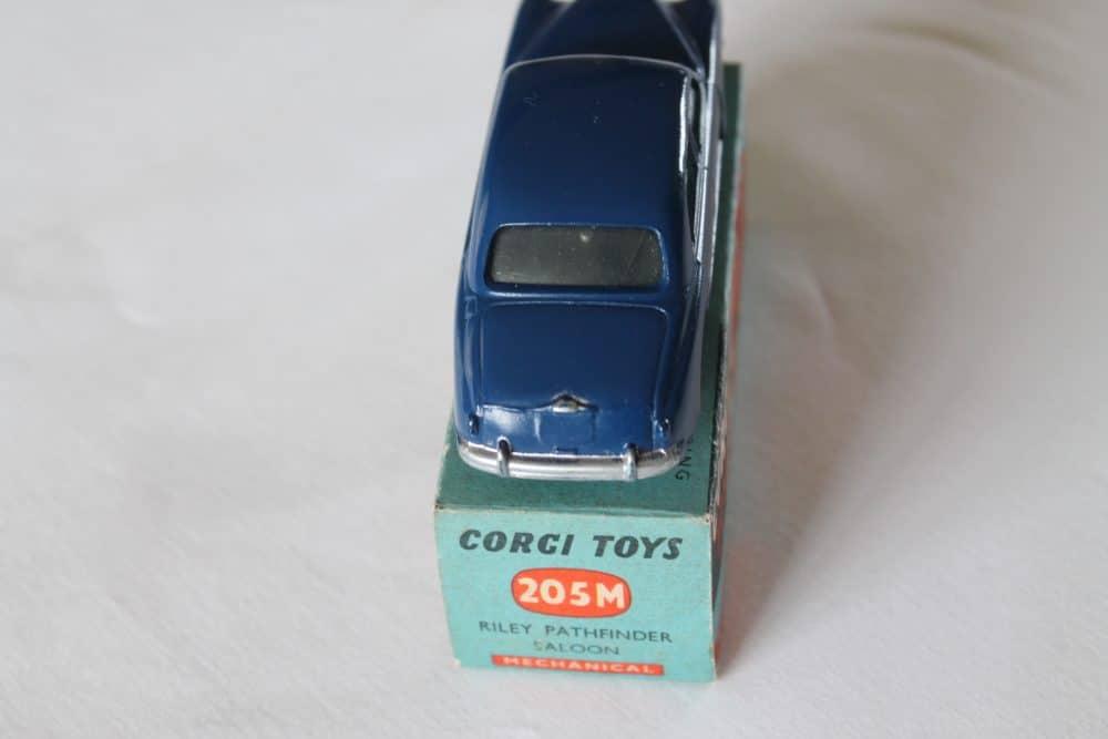 Corgi Toys 205M Riley Pathfinder Saloon Mechanical-back