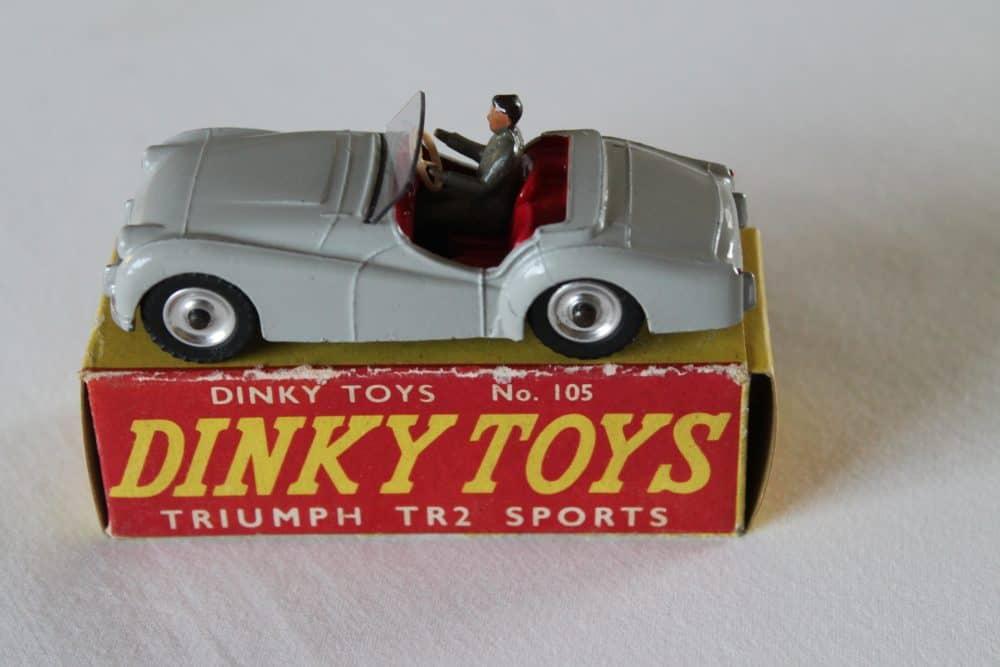 Dinky Toys 105 Triumph T.R.2 Tourer