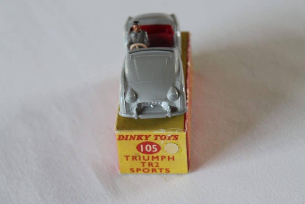 Dinky Toys 105 Triumph T.R.2 Tourer-front