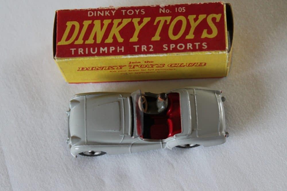 Dinky Toys 105 Triumph T.R.2 Tourer-top