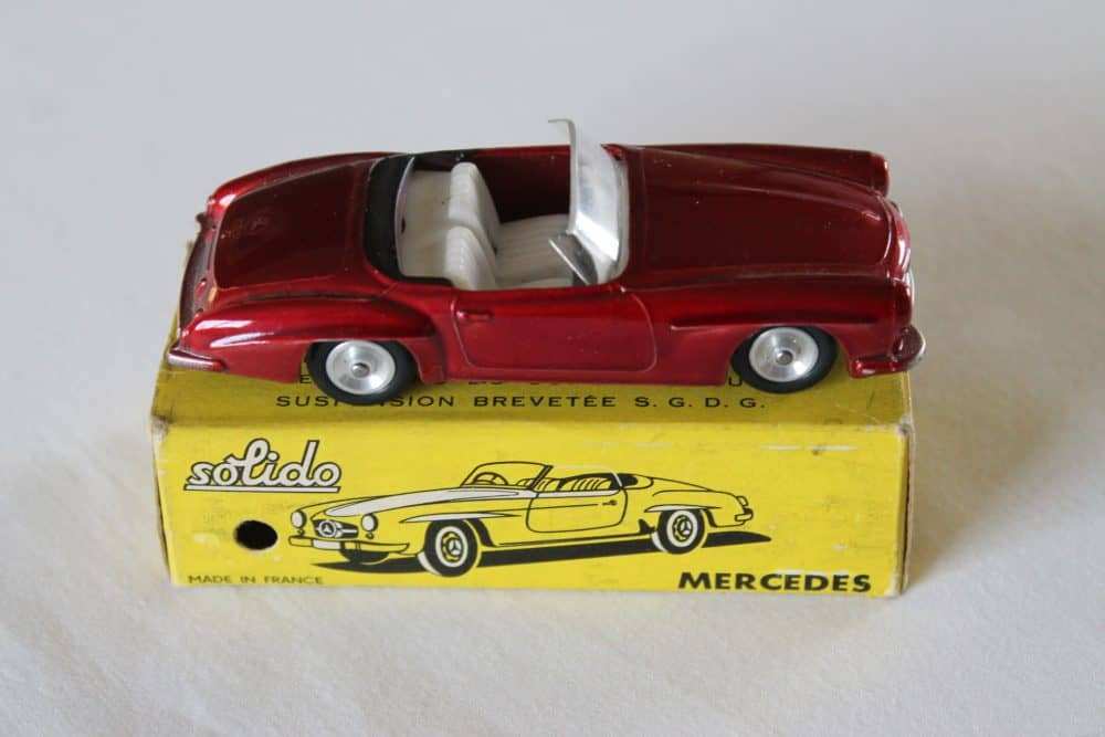 Solido Toys 105 Mercedes Benz 190 SL-side