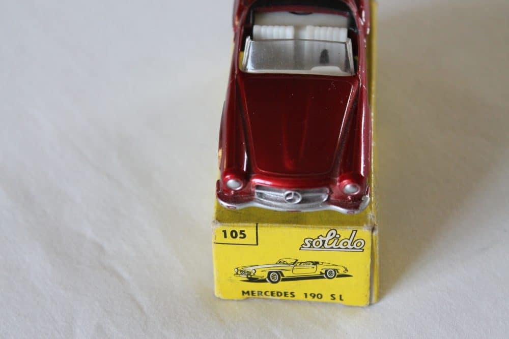 Solido Toys 105 Mercedes Benz 190 SL-front