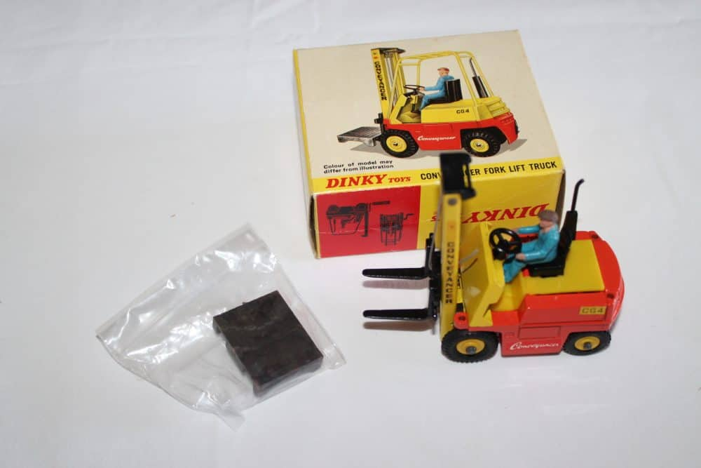 Dinky Toys 404 Conveyancer Fork Lift Truck