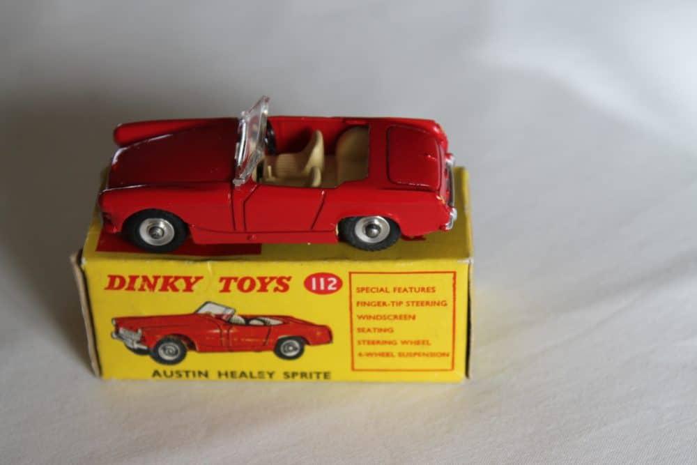 Dinky Toys 112 Austin Healey Sprite