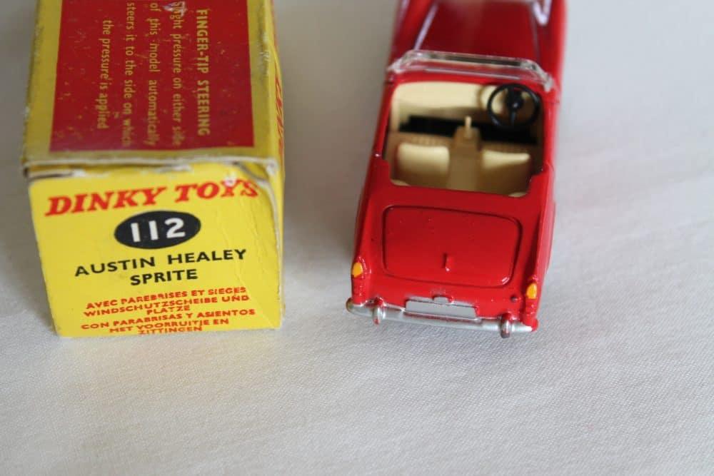 Dinky Toys 112 Austin Healey Sprite-back