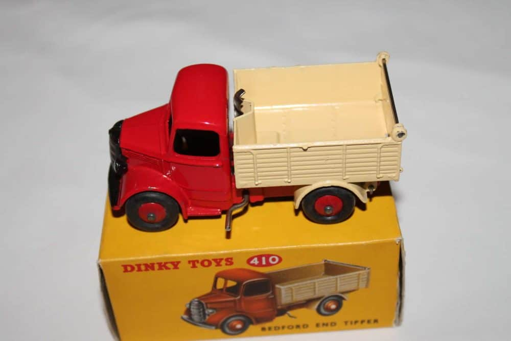 Dinky Toys 410 Bedford End Tipper