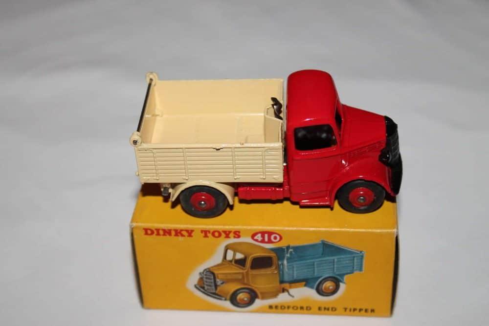 Dinky Toys 410 Bedford End Tipper-side