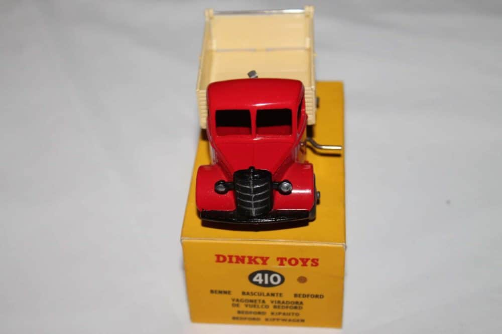 Dinky Toys 410 Bedford End Tipper-front