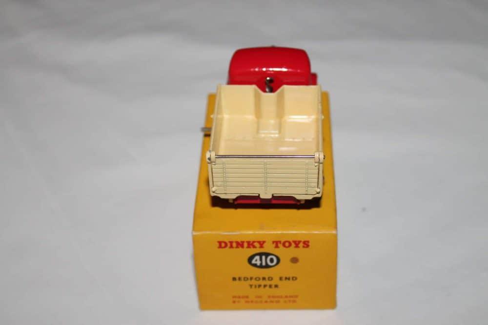 Dinky Toys 410 Bedford End Tipper-back