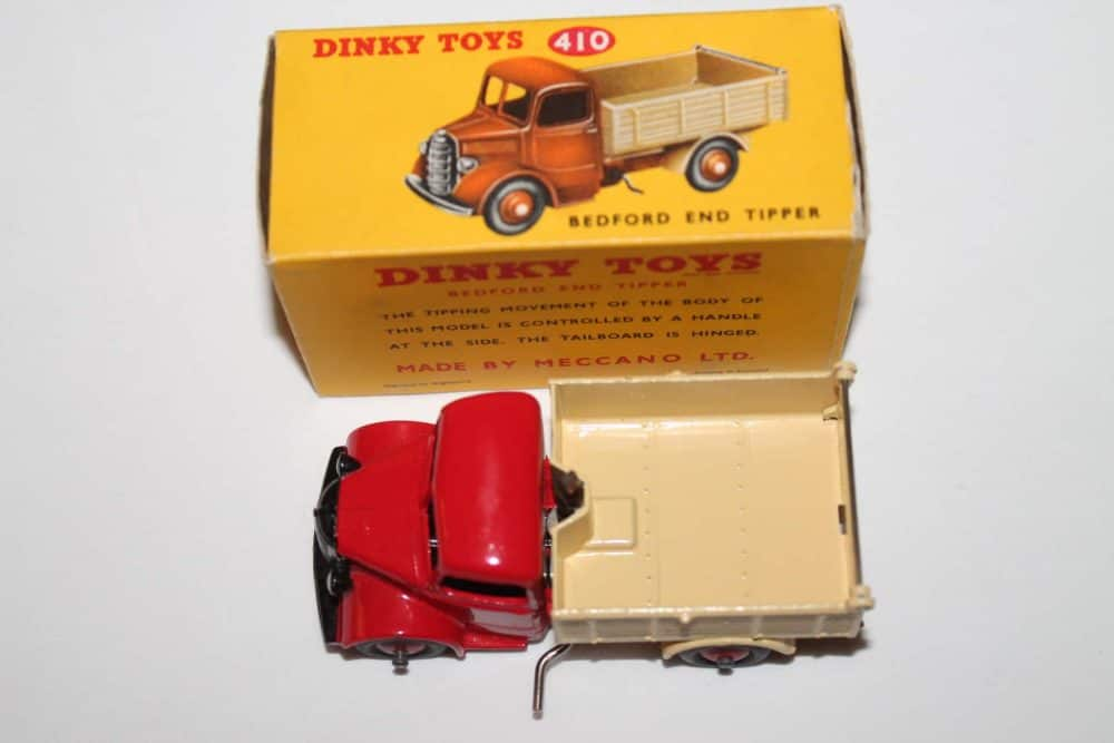 Dinky Toys 410 Bedford End Tipper-top