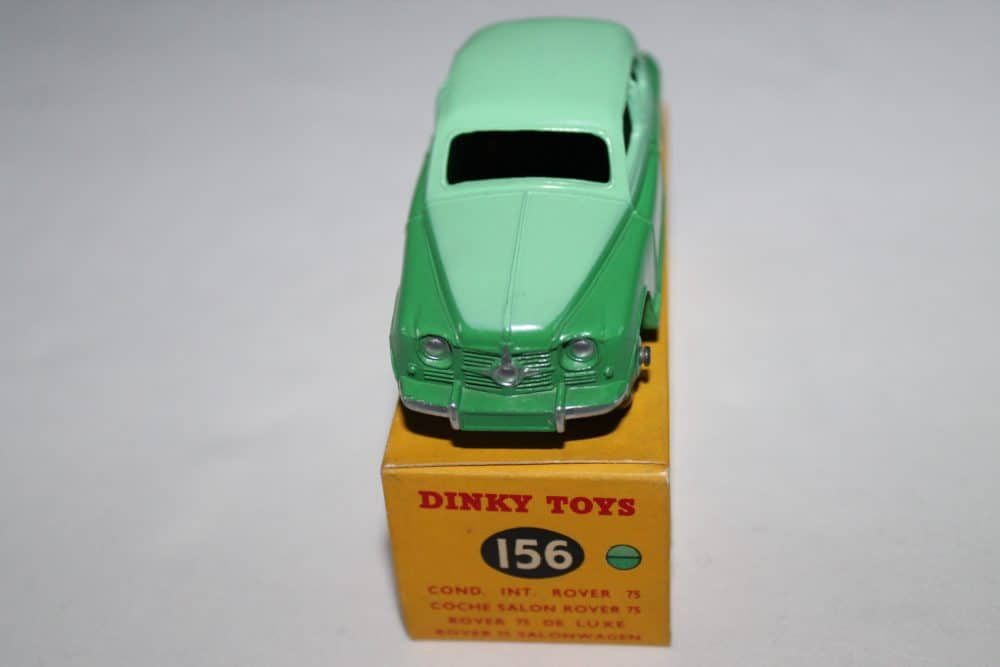 Dinky Toys 156 Rover 75-front