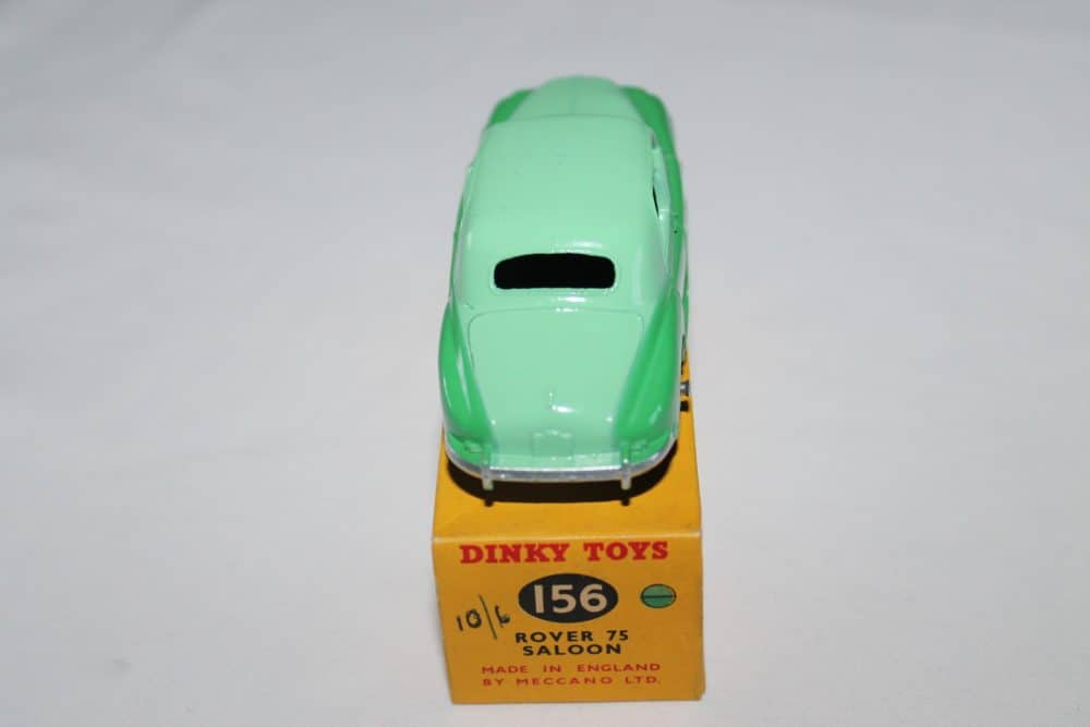 Dinky Toys 156 Rover 75-back