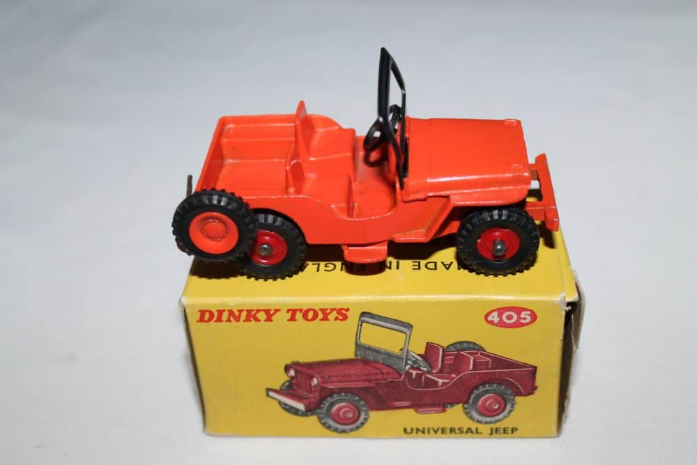 Dinky Toys 405 Universal Jeep-side