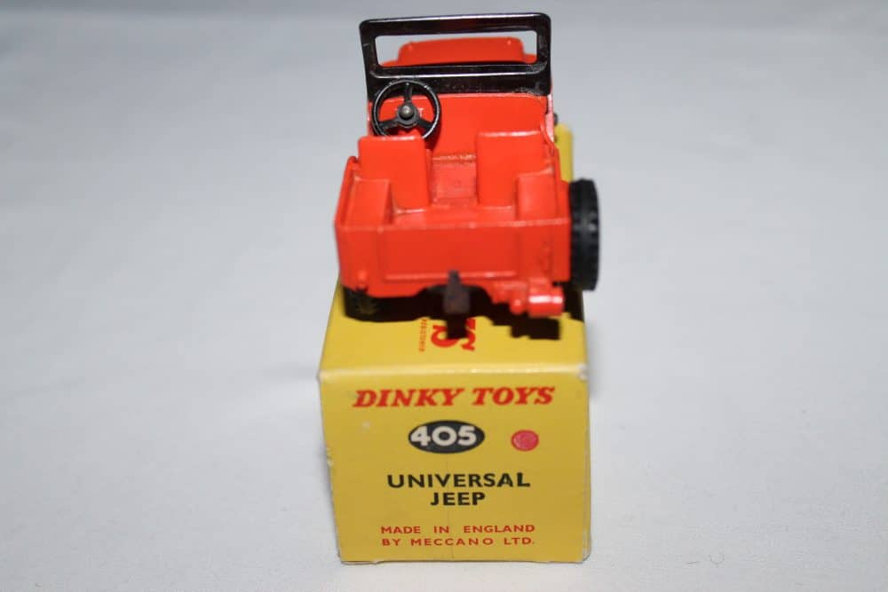 Dinky Toys 405 Universal Jeep-back