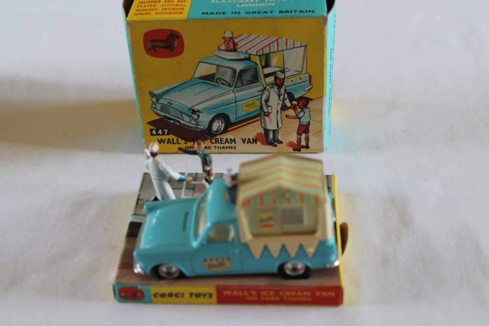 Corgi Toys 447 Ford Thames Wall's Ice Cream Van