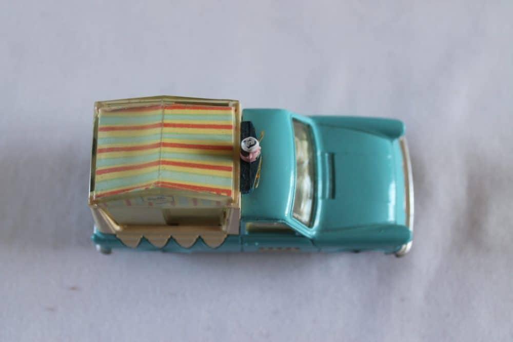Corgi Toys 447 Ford Thames Wall's Ice Cream Van-top