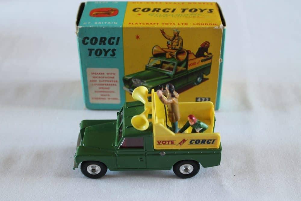 Corgi Toys 472 Public Address Vehicle