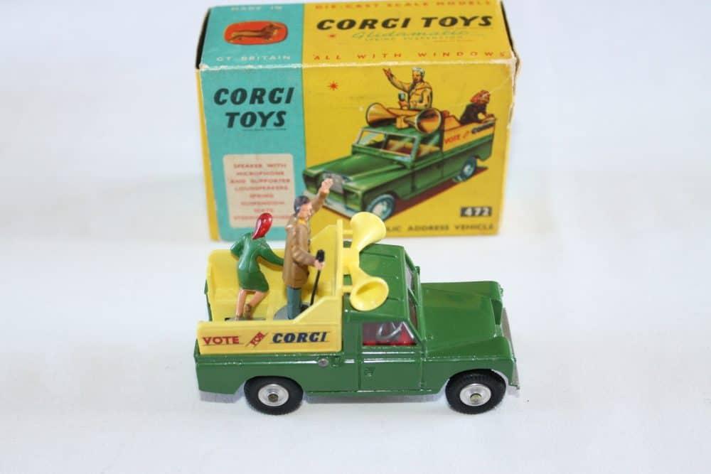 Corgi Toys 472 Public Address Vehicle-side