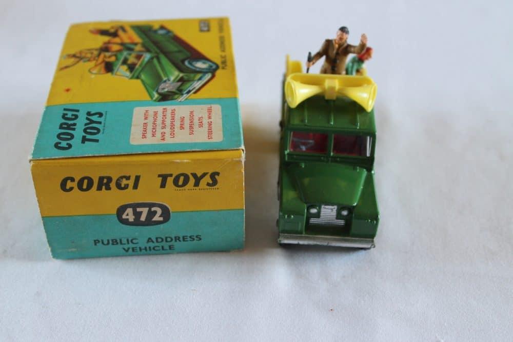 Corgi Toys 472 Public Address Vehicle-front