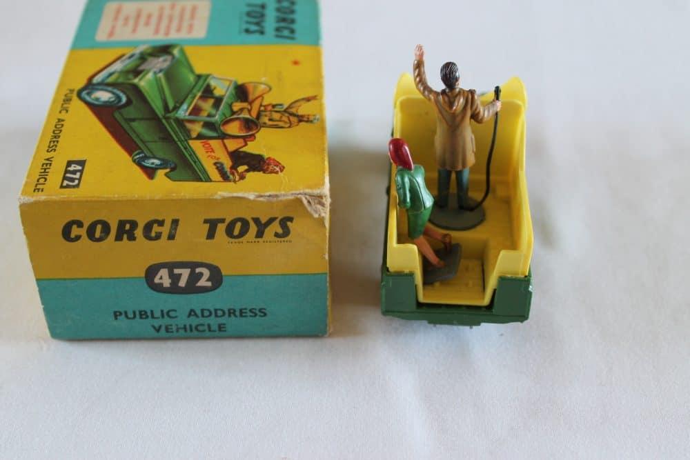 Corgi Toys 472 Public Address Vehicle-back