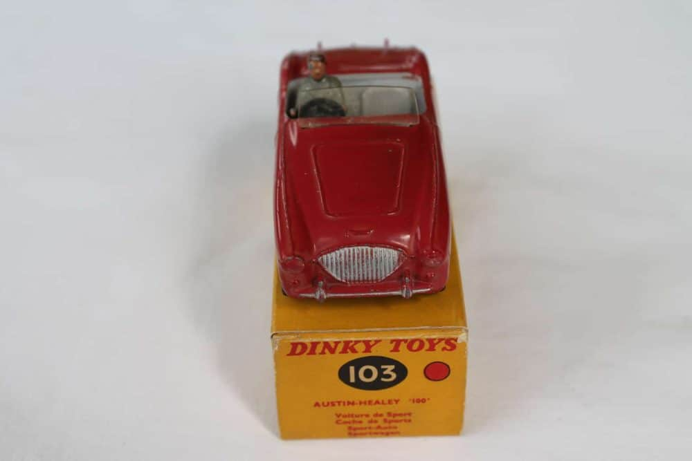 Dinky Toys 103 Austin Healey Tourer-front