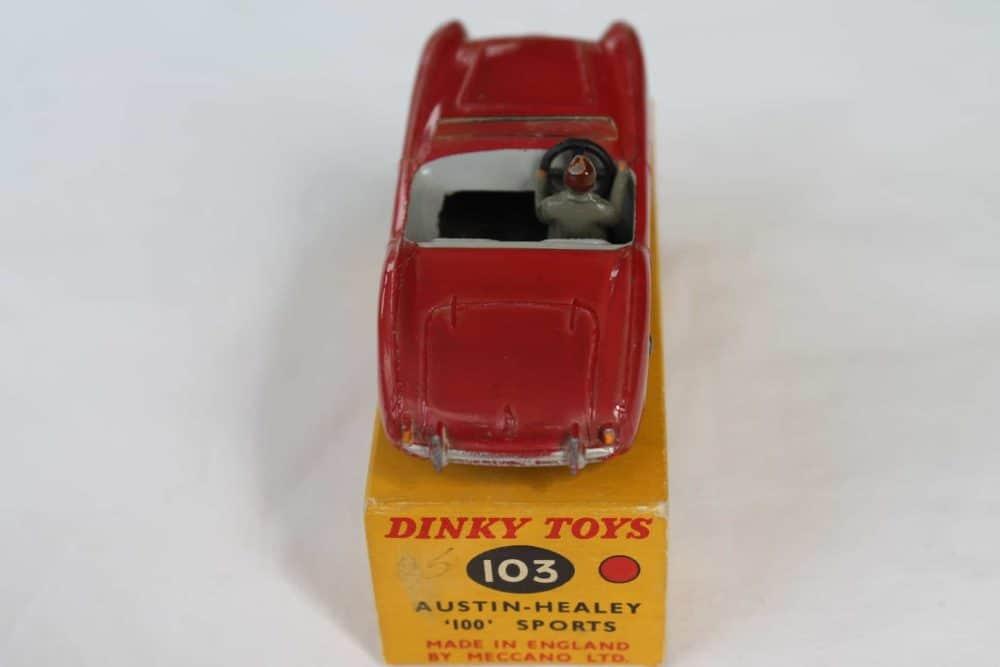 Dinky Toys 103 Austin Healey Tourer-back