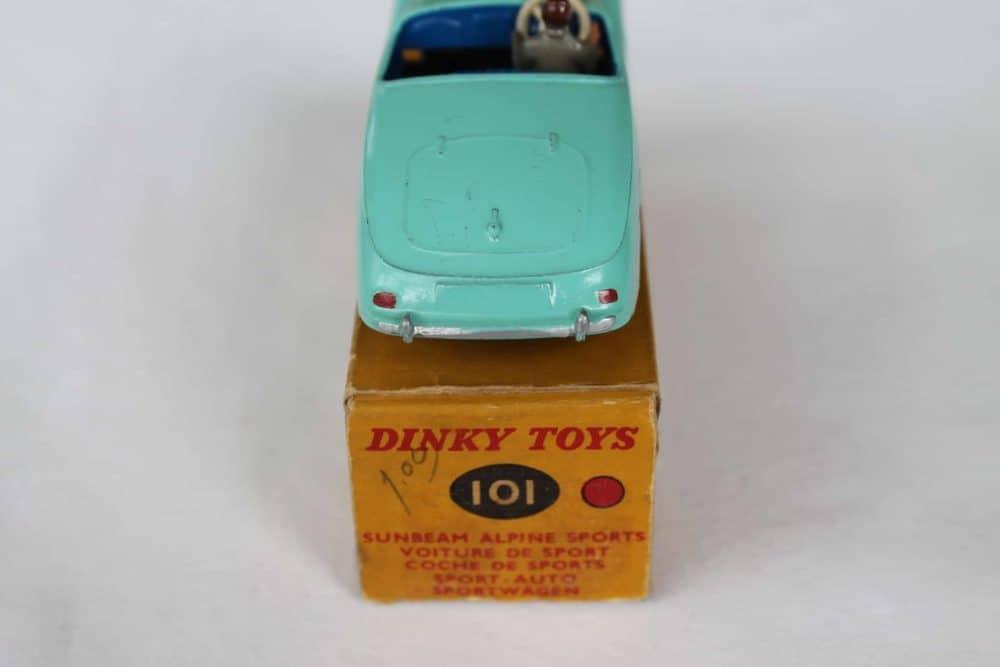 Dinky Toys 101 Sunbeam Alpine Tourer-back