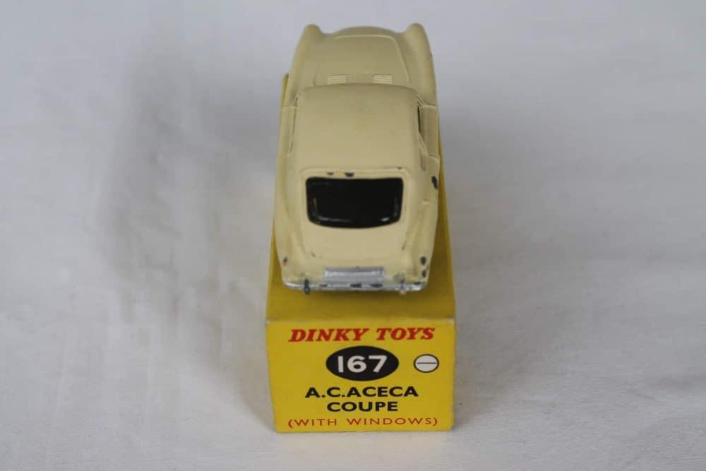 Dinky Toys 167 A.C. Aceca-back