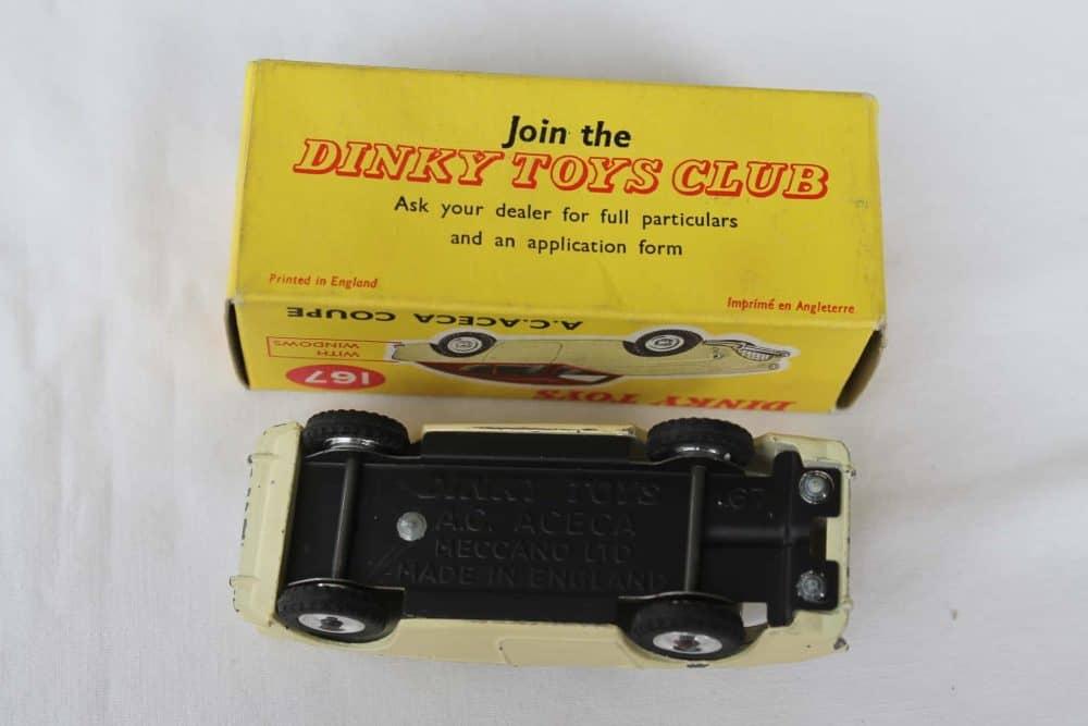 Dinky Toys 167 A.C. Aceca-base