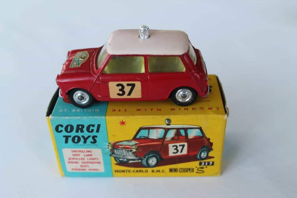 Corgi Toys 317 Monte Carlo B.M.C. Mini Cooper S