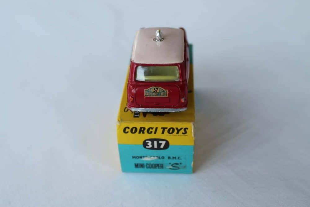 Corgi Toys 317 Monte Carlo B.M.C. Mini Cooper S-back